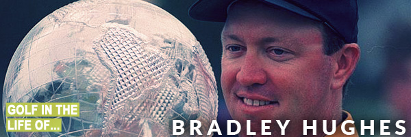 Bradley Hughes Golf Instruction wining the Australian Masters