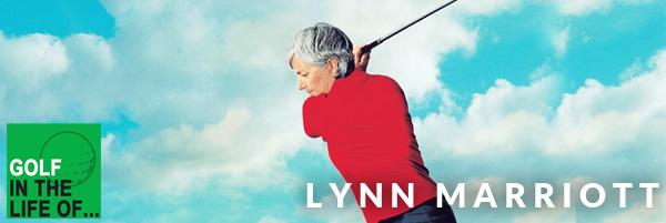 Lynn Marriott help golfers