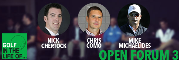 Nick Chertock    Chris Como    Mike Michaelides open forum 3