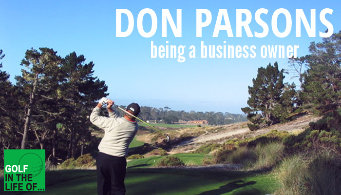 don parsons golf instructor