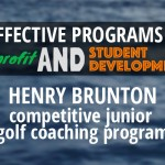 Henry Brunton – How to run a Competitive Junior Coaching Program