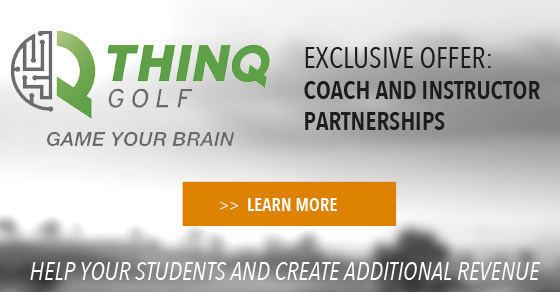 THINQ golf for instructors and coaches