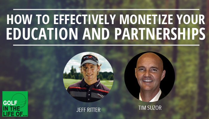 Tim Suzor and Jeff Ritter golf instruction business
