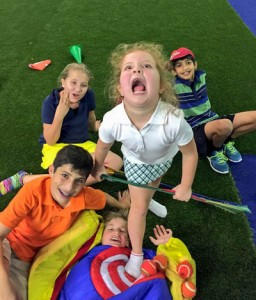 Kids having fun and developing as athletes is far more important than golf technique