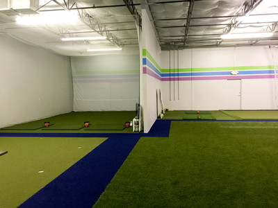 A Picture from the new facility Jeff has built out just for groups of juniors age 5-12.