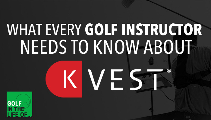 k-vest for golf instructors