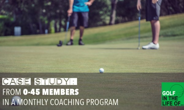 golf membership program