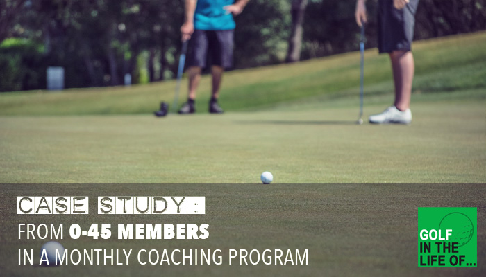 golf membership program