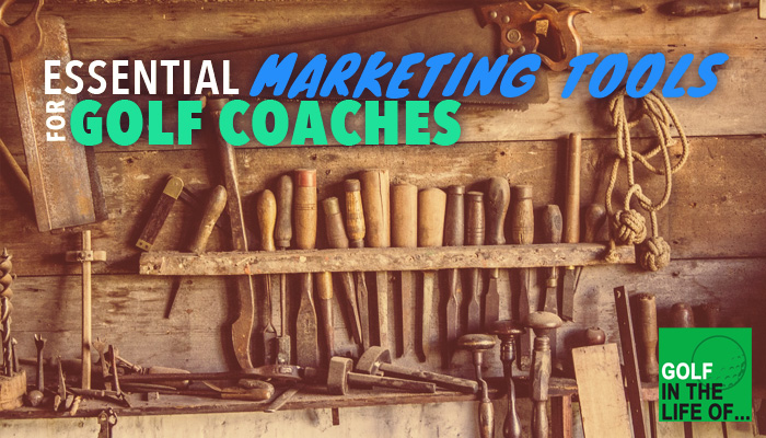 marketing tools for golf instructors