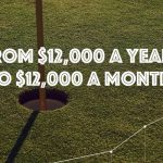 Golf instructors journey from $12,000 a year to $12,000 a month